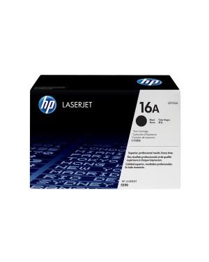 Q7516A - HP - Toner 16A preto LaserJet 5200