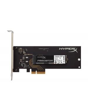SHPM2280P2H/480G - HyperX - HD Disco rígido PCIe SSD Predator M.2 PCI Express 240GB 1400MB/s