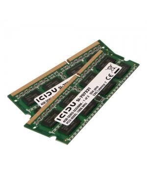 SI-707221 - ICIDU - Memoria RAM 2x4GB 8GB DDR3 1066MHz