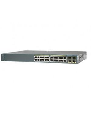 WS-C2960+24TC-BR= - Cisco - Switch Catalyst 2960 24 10/100 2T/SFP LA