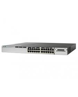 WS-C3850-24T-S - Cisco - Switch Catalyst 3850 24 Portas