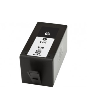 T6M20AL - HP - Cartucho de tinta 908XL preto OfficeJet Pro 6970