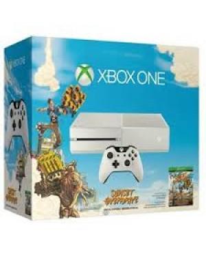 6QZ-00077 - Microsoft - Vídeo Game Xbox One 500GB + 2 Jogos Master Chief e Dance Central Spotlight