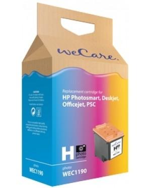WEC1190 - Wecare - Cartucho de tinta ciano magenta amarelo HP DeskJet 460 Mobiele 5440 5740 5940 6520 6540 6620 6840 De