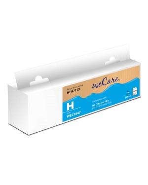 WEC1647 - Wecare - Cartucho de tinta ciano Officejet Pro X451 / X476 X551 X576