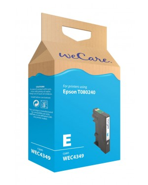 WEC4349 - Wecare - Cartucho de tinta ciano Stylus Photo P50 / PX650 PX700W PX710W PX800FW PX810FW R265