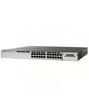 WS-C2960X-24PD-L - Cisco - (PROMO FT) Catalyst 2960-X 24 GigE PoE 370W, 2 x 10G SFP+, LAN Base