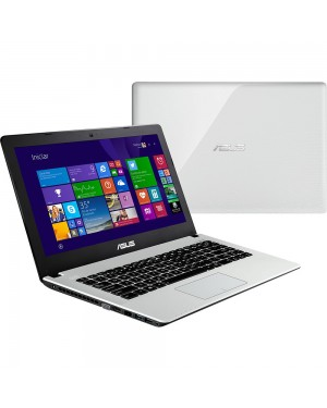 X450CA-BRAL-WX235H - Asus - Notebook Intel Core i3-2375 1.5GHz Tela 14 6GB RAM 500GB HD DVD-RW Wifi Windows 8 Branco