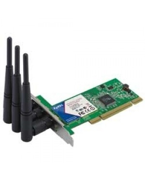 ZYXNWD-310N - ZyXEL - Placa de rede Wireless 300 Mbit/s PCI
