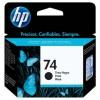 CB335WB - HP - Cartucho de tinta 74 preto Officejet J5780