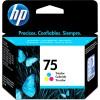 CB337WB - HP - Cartucho de tinta 75 ciano magenta amarelo Officejet J5780