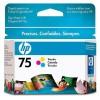 CB337WL - HP - Cartucho de tinta 75 ciano magenta amarelo Officejet J5780