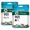 CC654AB - HP - Cartucho de tinta 901XL preto