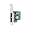 647594-B21 - HP - Placa de Rede Ethernet de 1GB e 4 portas 331T